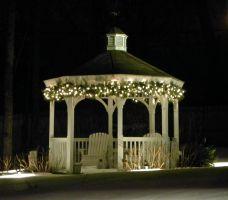 Gorgeous night yard landscape lighting design ideas 22