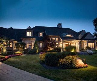Gorgeous night yard landscape lighting design ideas 39