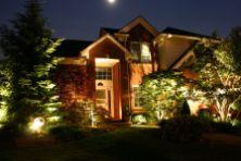 Gorgeous night yard landscape lighting design ideas 45