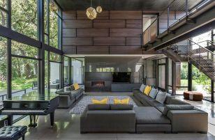 Luxurious house architecture designs inspiration ideas 34