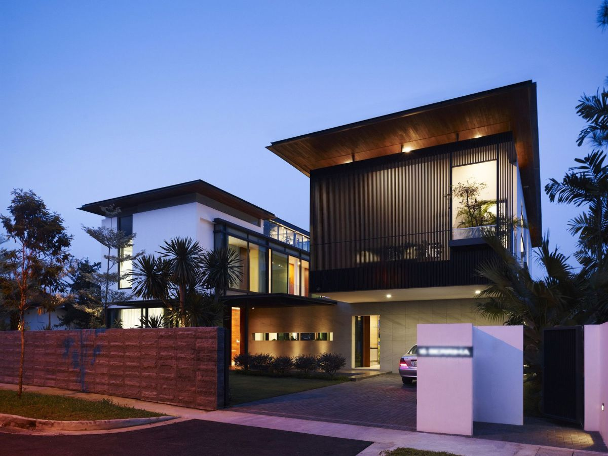 Luxurious house architecture designs inspiration ideas 49