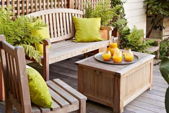 Modern small outdoor patio design decorating ideas 01