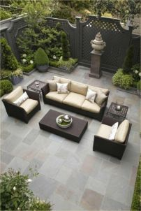 Modern small outdoor patio design decorating ideas 07