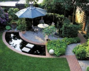 Modern small outdoor patio design decorating ideas 10