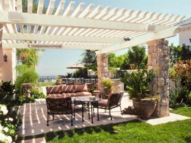 Modern small outdoor patio design decorating ideas 19