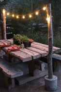 Modern small outdoor patio design decorating ideas 23