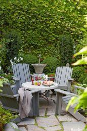 Modern small outdoor patio design decorating ideas 24