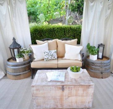 Modern small outdoor patio design decorating ideas 26