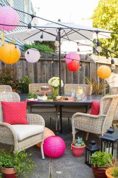 Modern small outdoor patio design decorating ideas 29