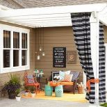 Modern small outdoor patio design decorating ideas 38