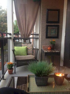 Modern small outdoor patio design decorating ideas 53