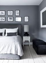 Stunning grey bedroom flooring ideas for soft room 03