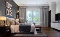 Stunning grey bedroom flooring ideas for soft room 31