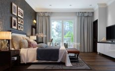 Stunning grey bedroom flooring ideas for soft room 31