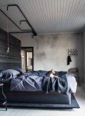 Stunning grey bedroom flooring ideas for soft room 40