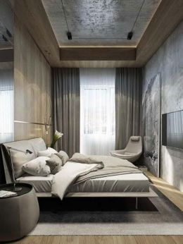 Stunning grey bedroom flooring ideas for soft room 44