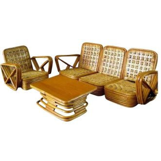 Unique bamboo sofa chair designs ideas 18