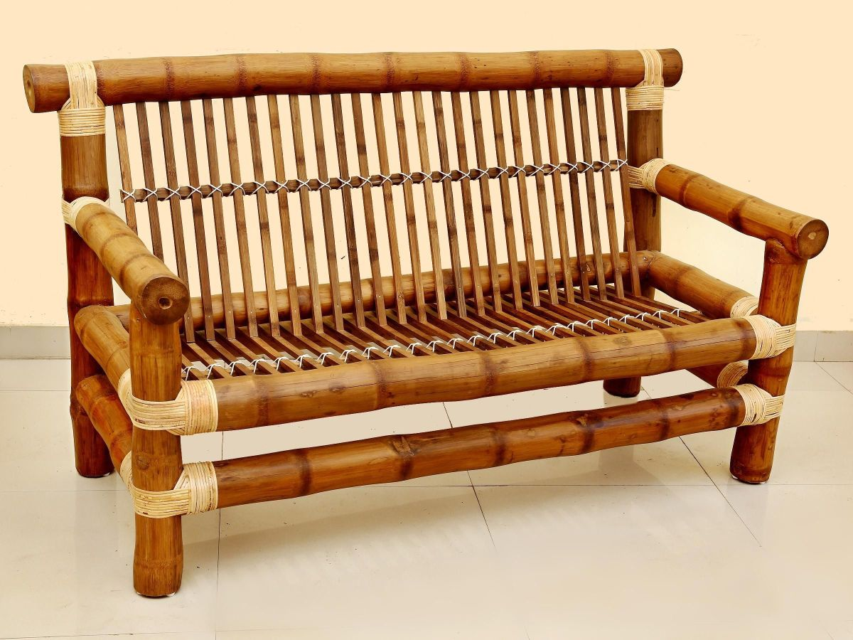 Unique bamboo sofa chair designs ideas 34