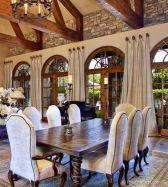 Unique dining room design ideas with french style 07