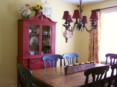 Unique dining room design ideas with french style 22