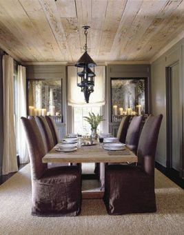 Unique dining room design ideas with french style 23