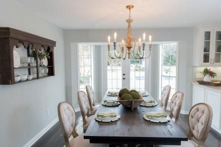 Unique dining room design ideas with french style 26