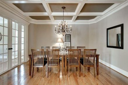 Unique dining room design ideas with french style 30