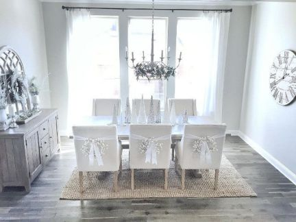 Unique dining room design ideas with french style 37
