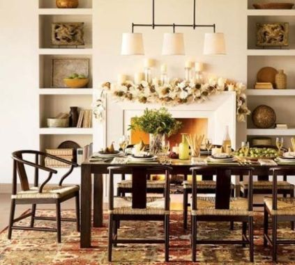 Unique dining room design ideas with french style 45