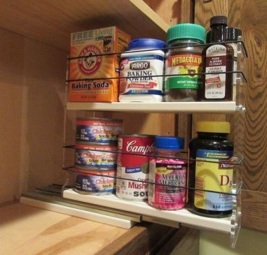 Amazing diy organized kitchen storage ideas 34