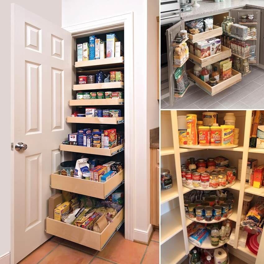 Amazing diy organized kitchen storage ideas 42