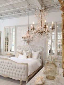 Awesome french style bedroom decor ideas 20
