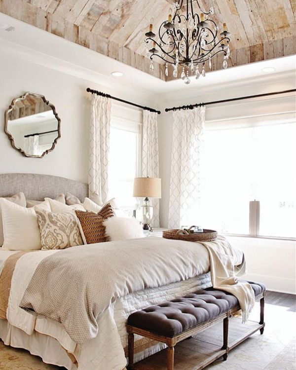 Awesome french style bedroom decor ideas 23