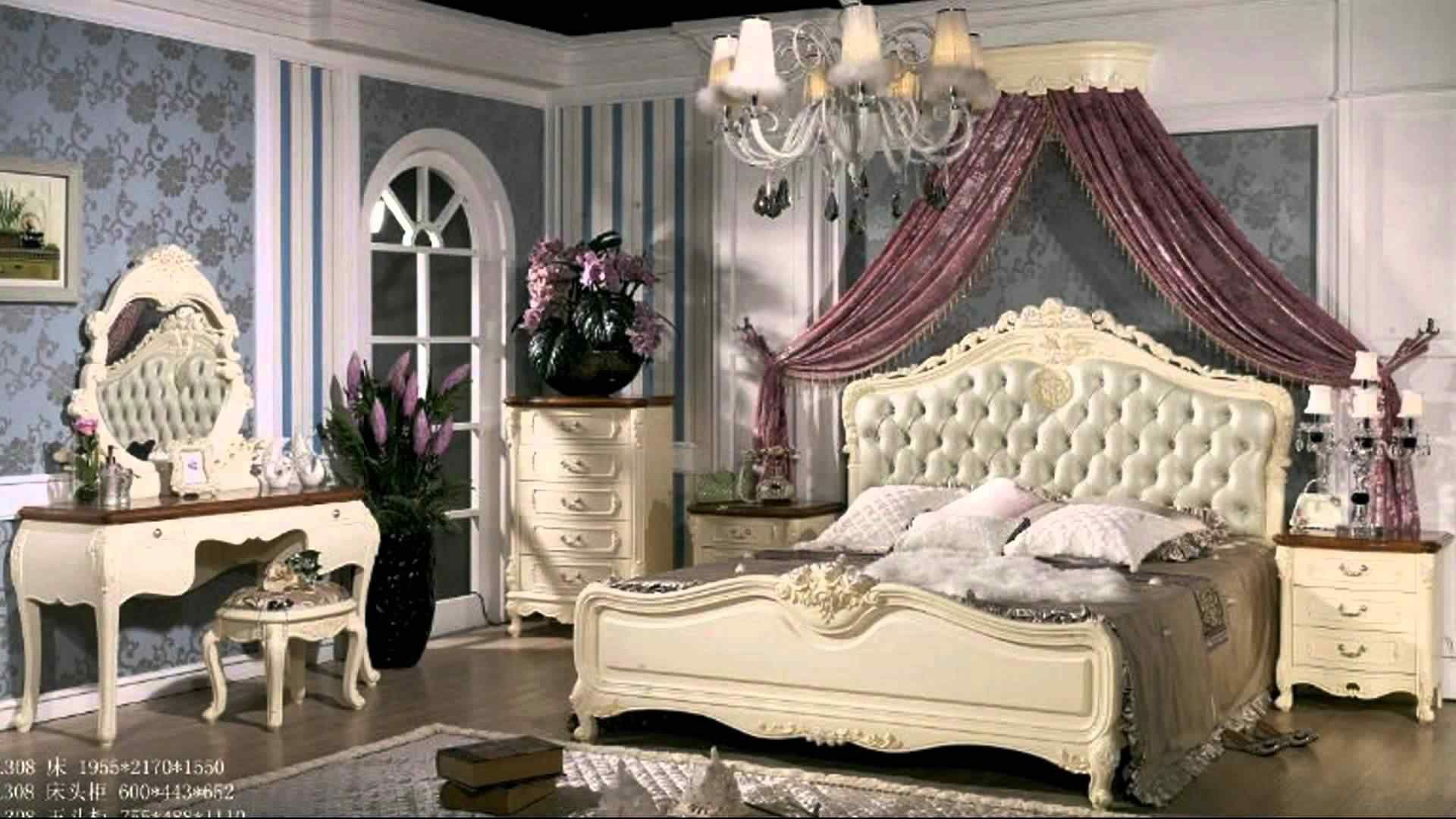 Awesome french style bedroom decor ideas 32 - ROUNDECOR