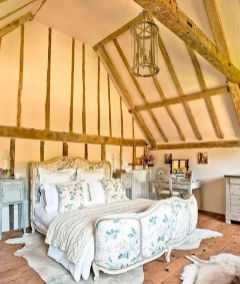 Awesome french style bedroom decor ideas 40