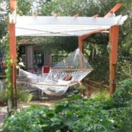 Best backyard hammock decor ideas 07