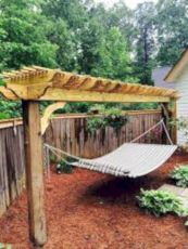 Best backyard hammock decor ideas 10