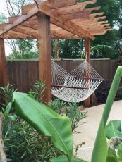 Best backyard hammock decor ideas 12
