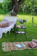Best backyard hammock decor ideas 14