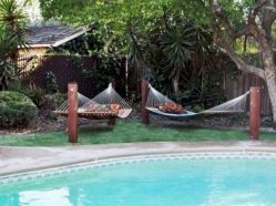 Best backyard hammock decor ideas 19