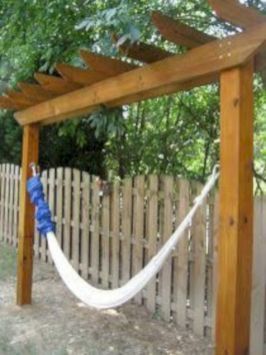 Best backyard hammock decor ideas 38