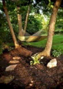 Best backyard hammock decor ideas 42