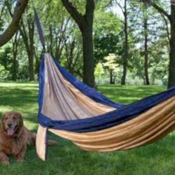 Best backyard hammock decor ideas 47