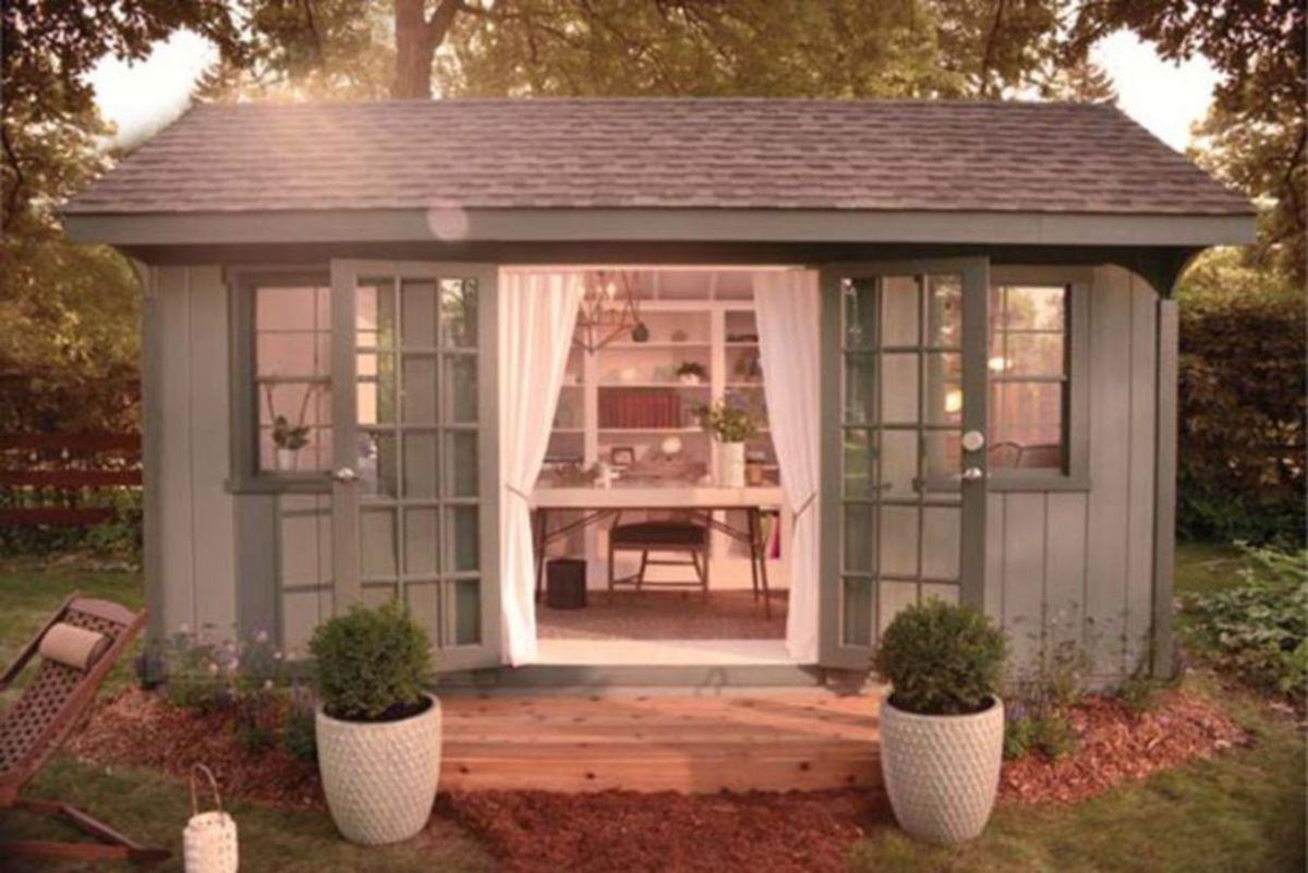 Captivating ideas for backyard studio office 02