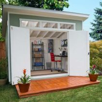 Captivating ideas for backyard studio office 10