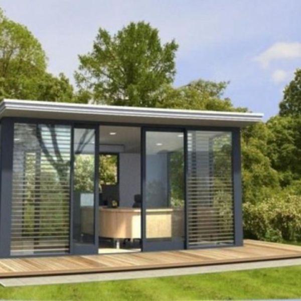 46 Captivating Ideas For Backyard Studio Office