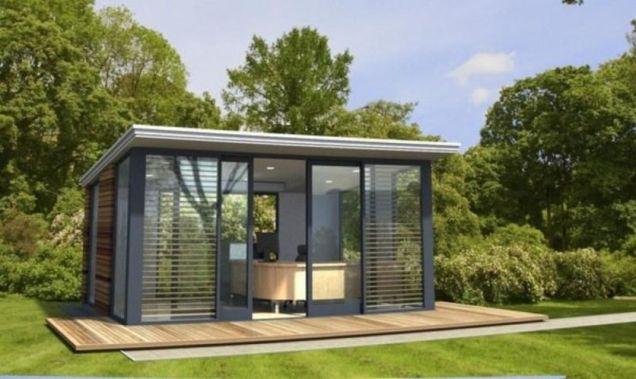 Captivating ideas for backyard studio office 46