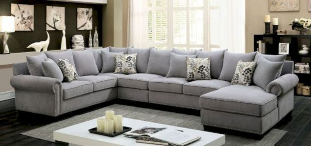 Charming gray living room design ideas for your apartment 45