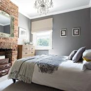 Colorful brick wall design ideas for home interior ideas 03