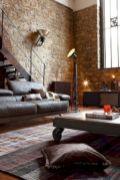 Colorful brick wall design ideas for home interior ideas 25